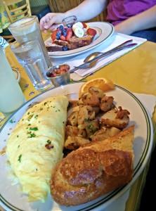 Frühstück bei Mamas on Washington Square