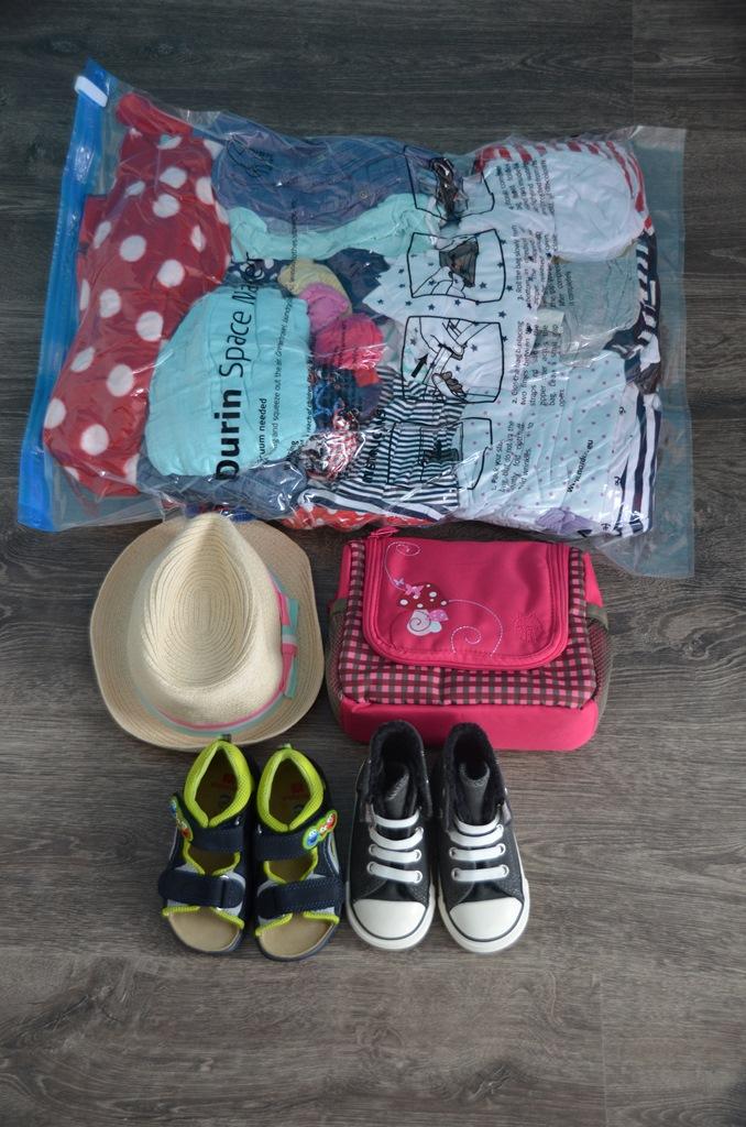 Packliste Baby Spacebag