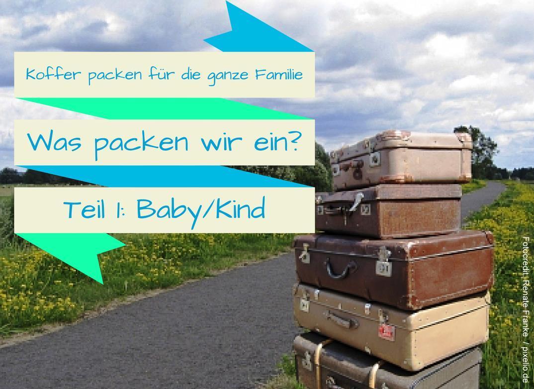Packlisten für die ganze Familie (1)